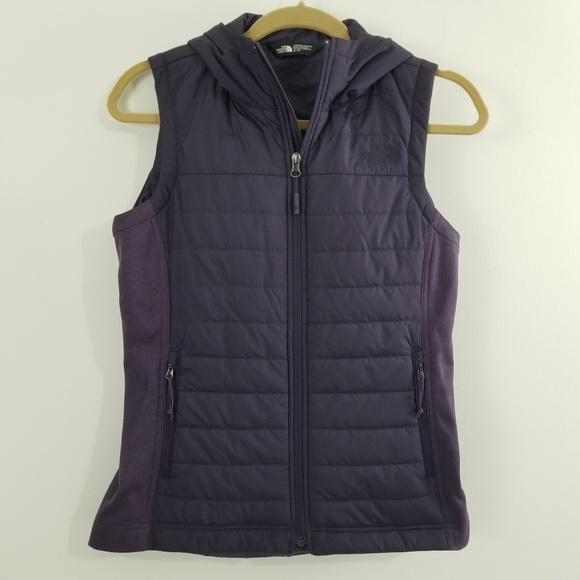 The North Face Jackets & Blazers - The North Face Womens Purple Vest size XS Quilted